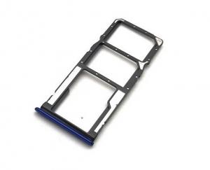 Držák (šuplík) SIM Xiaomi Redmi 7 blue