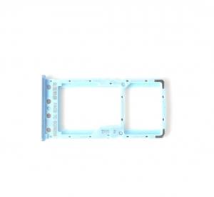 Držák (šuplík) SIM Xiaomi Redmi 6, 6A blue