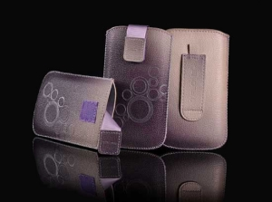 Pouzdro DEKO Samsung P3100, P3200, Tablet 7, barva fialová