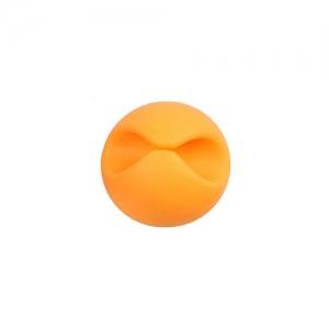 Organizér pro datový kabel, HF - 1 kabel barva oranžová