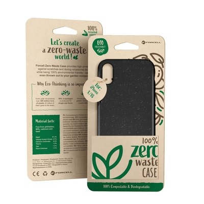 Pouzdro Bio Case iPhone XR (6,1), barva černá