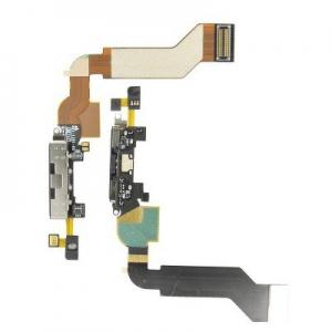 Flex iPhone 4S s dobíjecím konektorem černý
