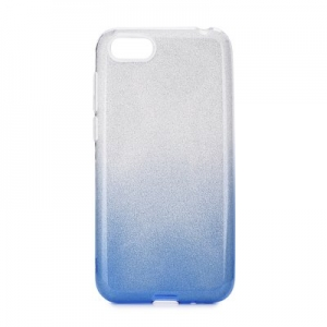 Pouzdro Back Case Shining iPhone 5, 5S, SE, barva modrá