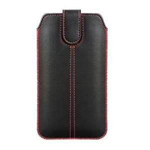Pouzdro FORCELL M4 Samsung Note 8, Note 9, Note 10 Plus, J4 Plus, J6 Plus barva černá