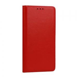 Pouzdro Book Leather Special iPhone 11 (6,1), barva červená