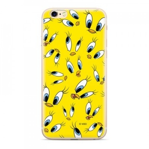 Pouzdro iPhone 11 (6,1) Looney Tunes Tweety vzor 006