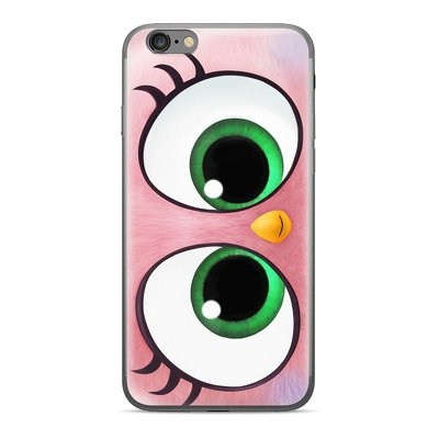 Pouzdro iPhone 5, 5S, SE Angry Birds Lady vzor 019