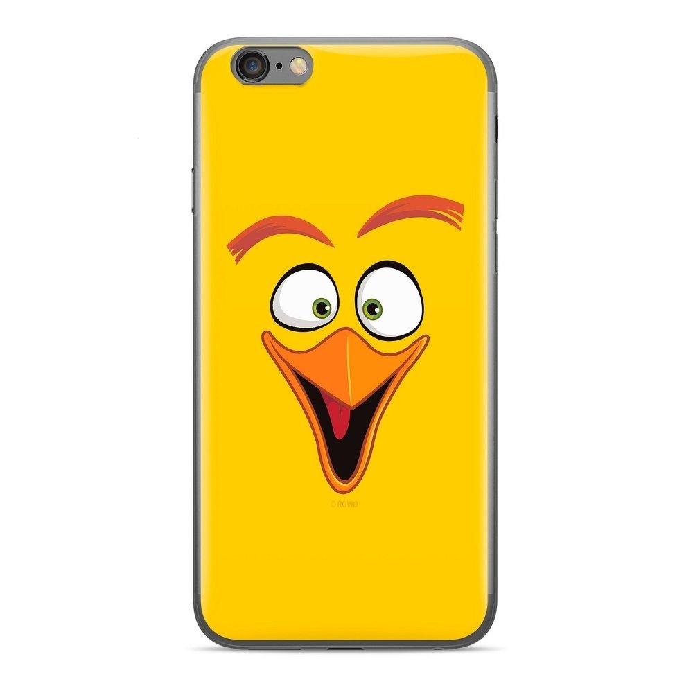 Pouzdro iPhone 11 Pro (5,8) Angry Birds yellow vzor 012