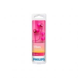 Philips SHE3705 HandsFree jack 3,5mm (blistr) růžová originál