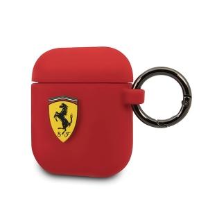 Pouzdro AirPods Ferrari, barva červená