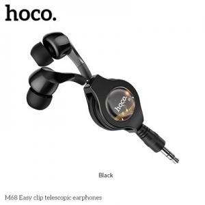 Hands Free HOCO M68 3,5 mm jack barva černá