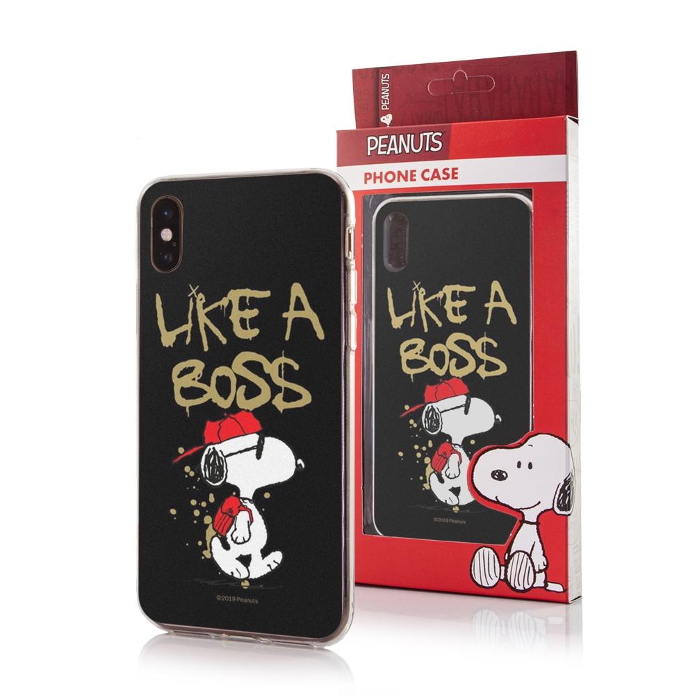 Pouzdro iPhone X, XS (5,8) Snoopy vzor 037