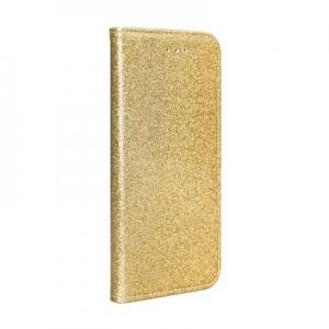 Pouzdro Shining Book Huawei P Smart (2019), barva zlatá