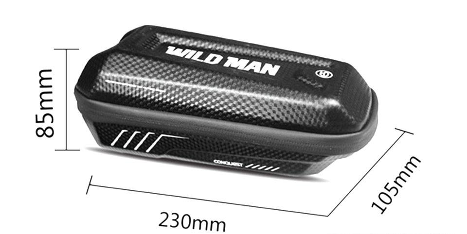 Držák na kolo Wildman E5, barva černá