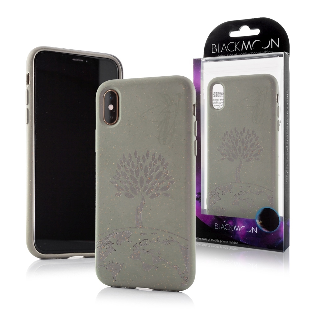 Pouzdro Bio Case iPhone XS Max (6,5), TREE barva zelená