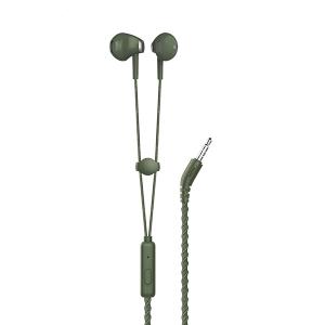 Hands Free REMAX RM-330 3,5 mm jack, barva zelená