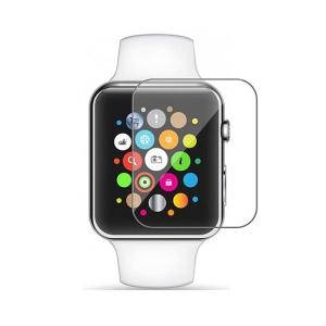 Tvrzené sklo 5D Apple Watch 42x36mm, transparentní