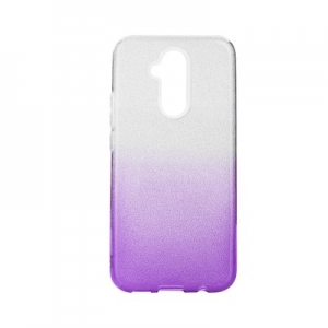 Pouzdro Back Case Shining Huawei P40 Lite E, barva fialová