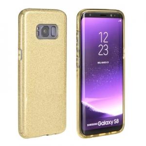 Pouzdro Back Case Shining iPhone X, XS (5,8), barva zlatá