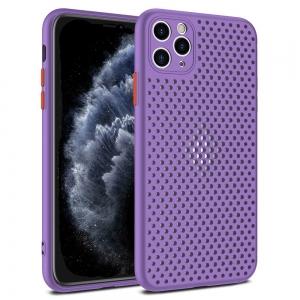 Pouzdro Breath Case iPhone 11 Pro (5,8), barva fialová