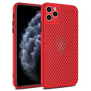 Pouzdro Breath Case iPhone 11 Pro (5,8), barva červená