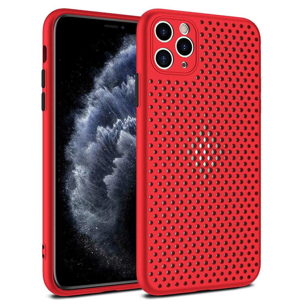 Pouzdro Breath Case iPhone 11 (6,1), barva červená
