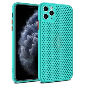 Pouzdro Breath Case iPhone 11 (6,1), barva tyrkysová