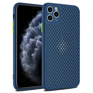 Pouzdro Breath Case Huawei P40 Pro, barva modrá