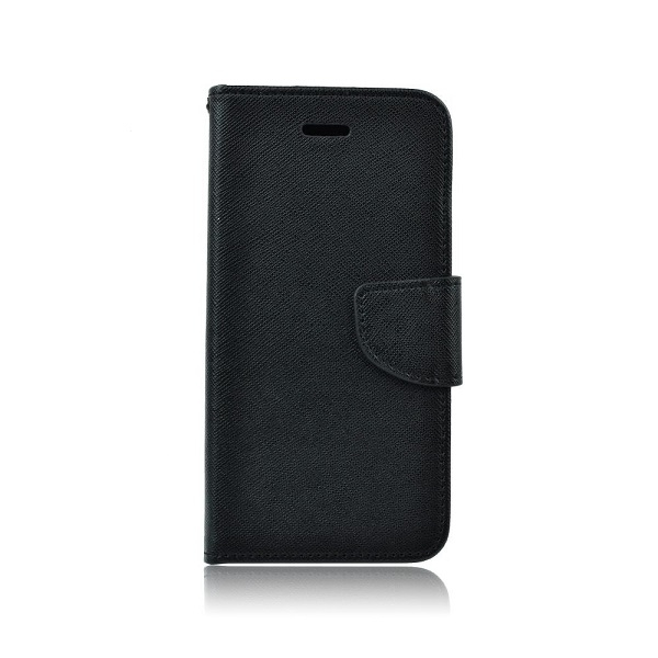 Pouzdro FANCY Diary Huawei NOVA 5T barva černá