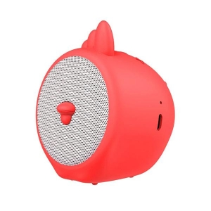 Mini reproduktor BlueTooth Baseus Kohout, barva červená