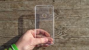 Pouzdro Back Case Ultra Slim 0,3mm Huawei HONOR 20 LITE transparentní
