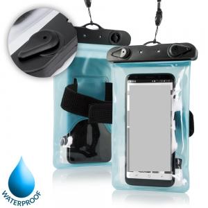Pouzdro voděodolné ARM zámek plastový, barva modrá