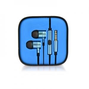 Hands Free MI 3,5 mm jack, barva modrá