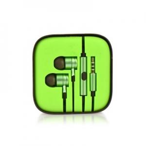 Hands Free MI 3,5 mm jack, barva zelená