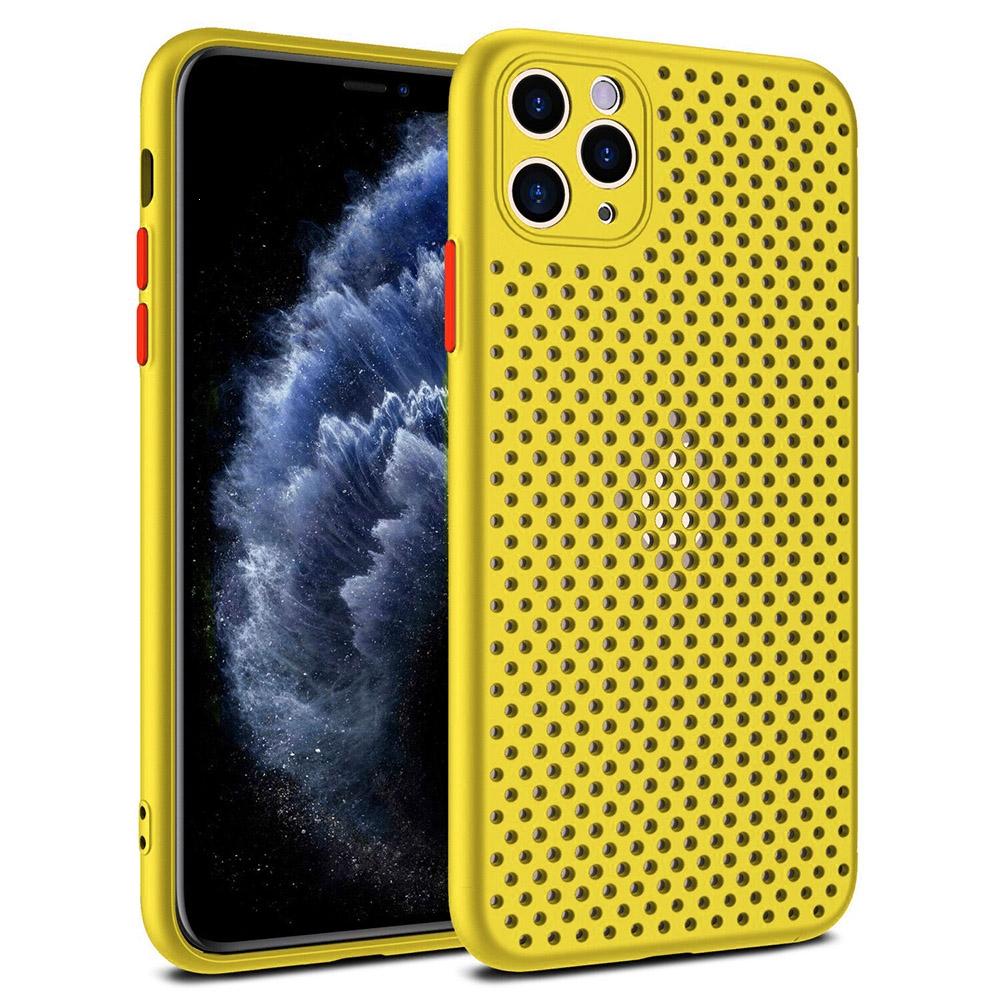 Pouzdro Breath Case iPhone 7, 8, SE 2020 (4,7), barva žlutá