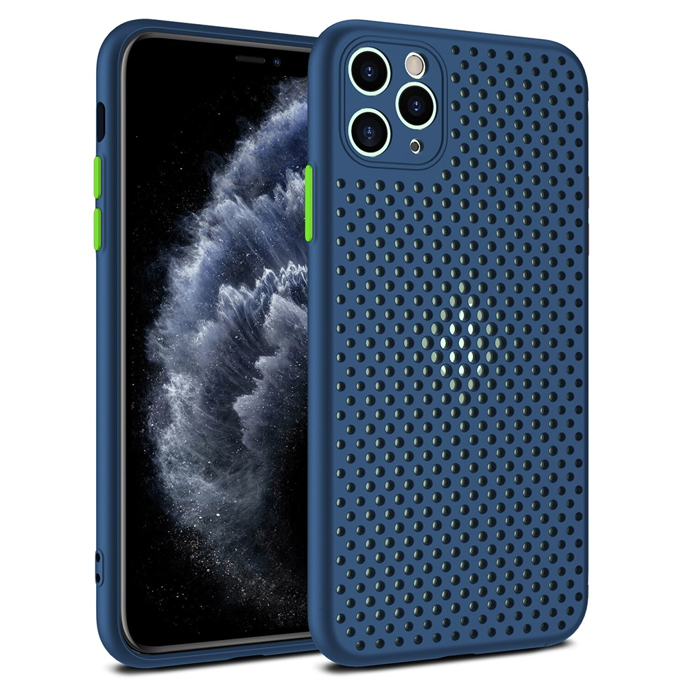 Pouzdro Breath Case iPhone 7, 8, SE 2020 (4,7), barva modrá