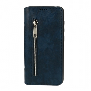 "Pouzdro Business Zip iPhone 7, 8, SE 2020 (4,7""), barva modrá"