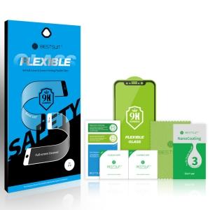 Tvrzené sklo 5D FLEXIBLE NANO Samsung A705 Galaxy A70 černá