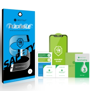 Tvrzené sklo 5D FLEXIBLE NANO Samsung A405 Galaxy A40 černá