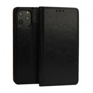 Pouzdro Book Leather Special Huawei Y6 (2019), barva černá