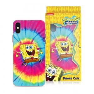 Pouzdro iPhone 7, 8, SE 2020 (4,7) Sponge Bob vzor 018