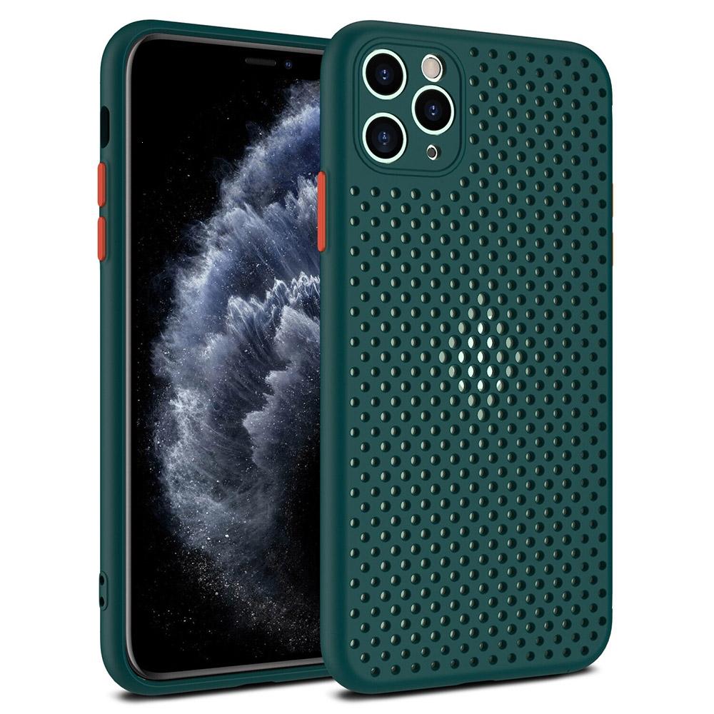 Pouzdro Breath Case Xiaomi Redmi Note 8T, barva zelená