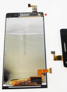 Dotyková deska Huawei G6 + LCD černá ( není stejné s verzí LTE )