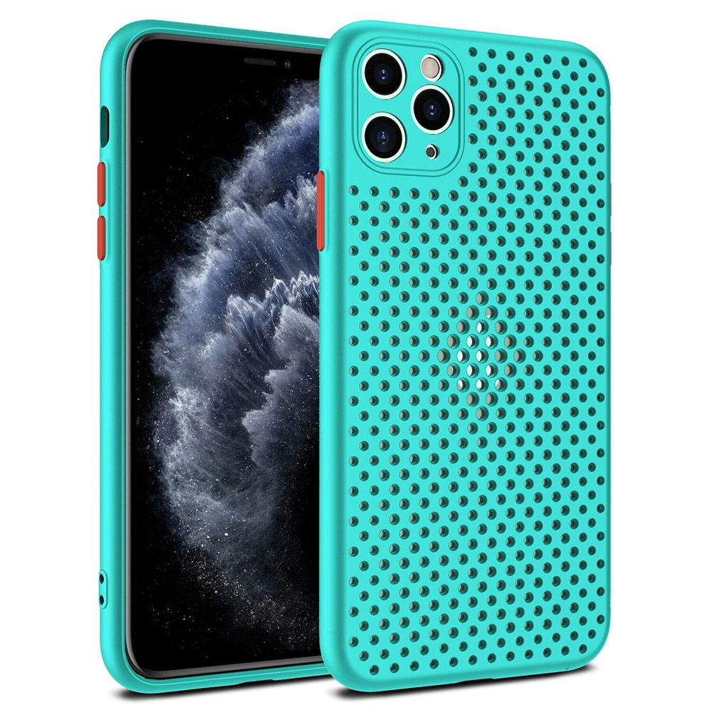 Pouzdro Breath Case Samsung A217 Galaxy A21s, barva tyrkysová