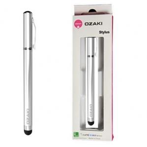 Dotykové pero (stylus) kapacitní OZAKI barva stříbrná