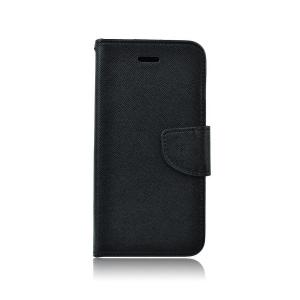 """Pouzdro FANCY Diary iPhone 12, 12 Pro (6,1"""") barva černá"""