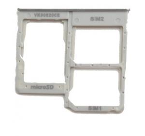 Držák (šuplík) SIM Samsung A405 Galaxy A40 white