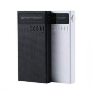 Externí baterie POWER BANK REMAX Rádio RPP-102, 20.000mAh, 4xUSB, rádio, barva černá