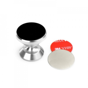 Držák do auta FLY 360 MAGNET C1557A barva stříbrná