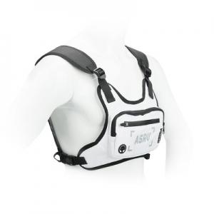 Sportovní běžecká taška pro mobilní telefony, velikost 4,5 ´´- 6,5 ´´ , barva bílá